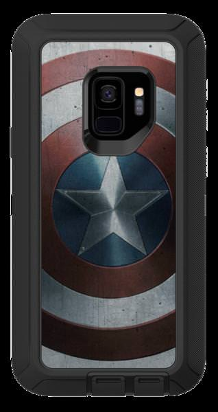 Otterbox Samsung Defender Case for Galaxy S9, Captain America by OtterBox