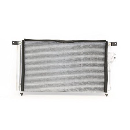 A-C Condenser - Pacific Best Inc For/Fit 3576 07-09 Hyundai Santa Fe Parallel Flow Aluminum WITH Receiver &