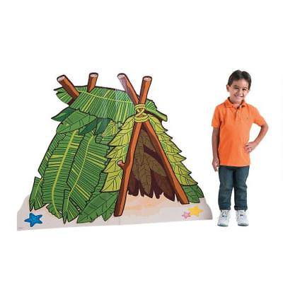 IN-13794477 Island VBS Hut Cardboard Stand-Up 1 Piece(s) (Vbs Supplies)