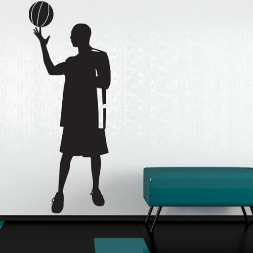Style and Apply Skill Basketball Player Sport Wall Decal