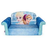 Disney Frozen 2 Kids 2-in-1 Flip Open Foam Sofa, Anna & Elsa