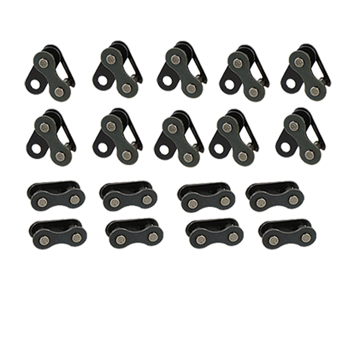 20 Pcs Replacement Bicycle Bike Chain Master Link Black