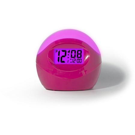 Timelink Color-Changing Alarm Clock