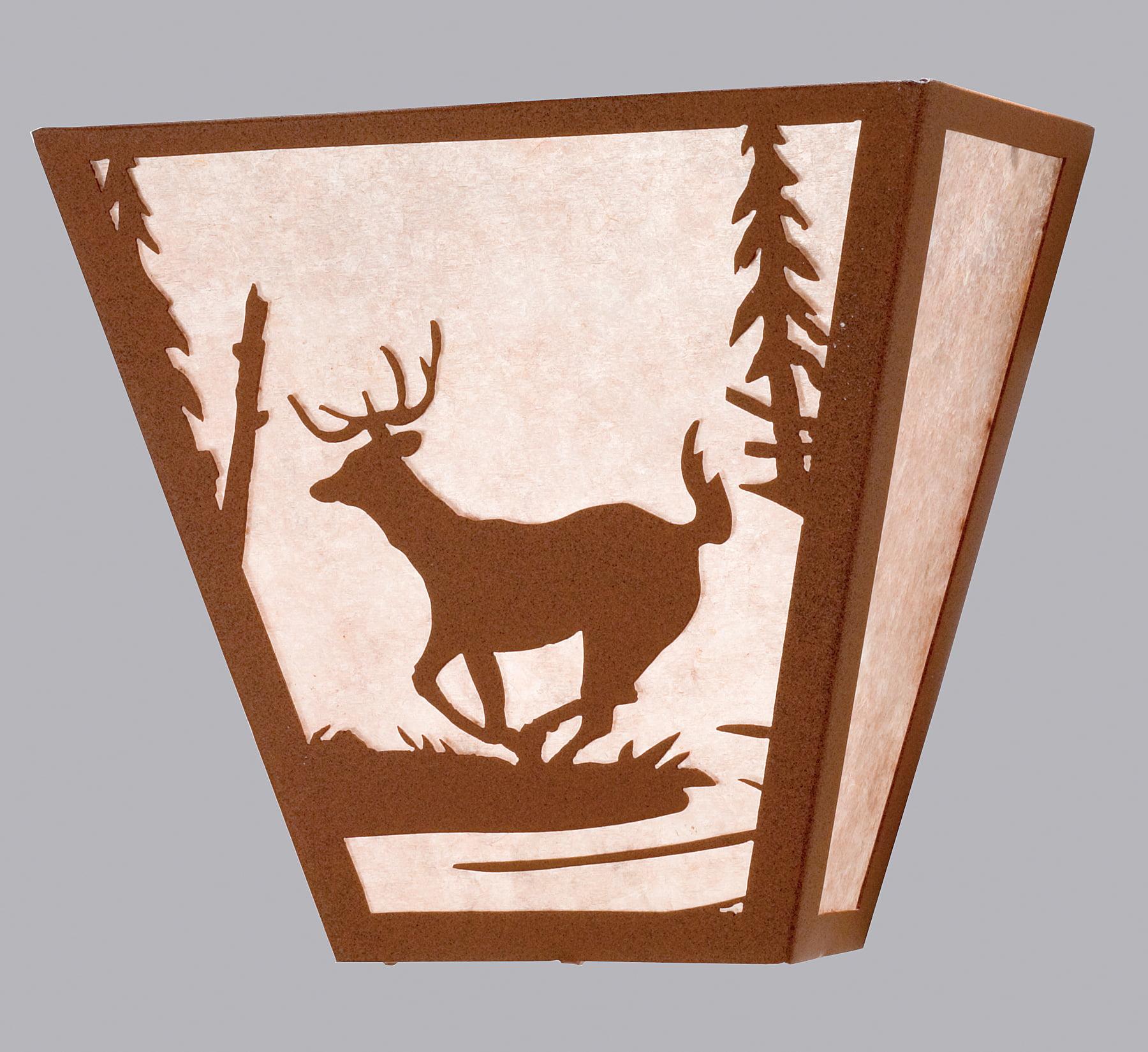 "13""W Deer Creek Wall Sconce 23944"