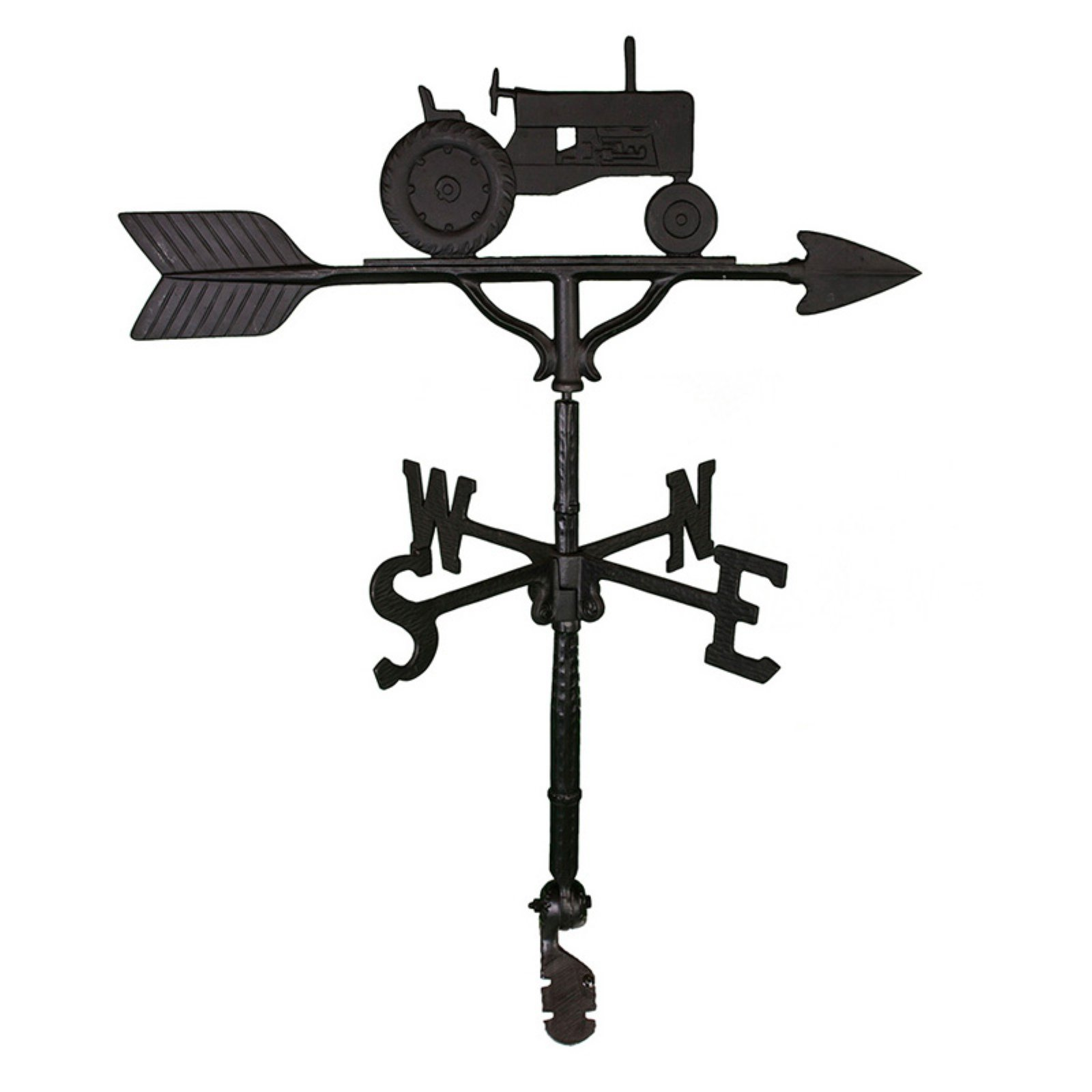 Black Tractor Weathervane 32 in. by Montague Metal Products