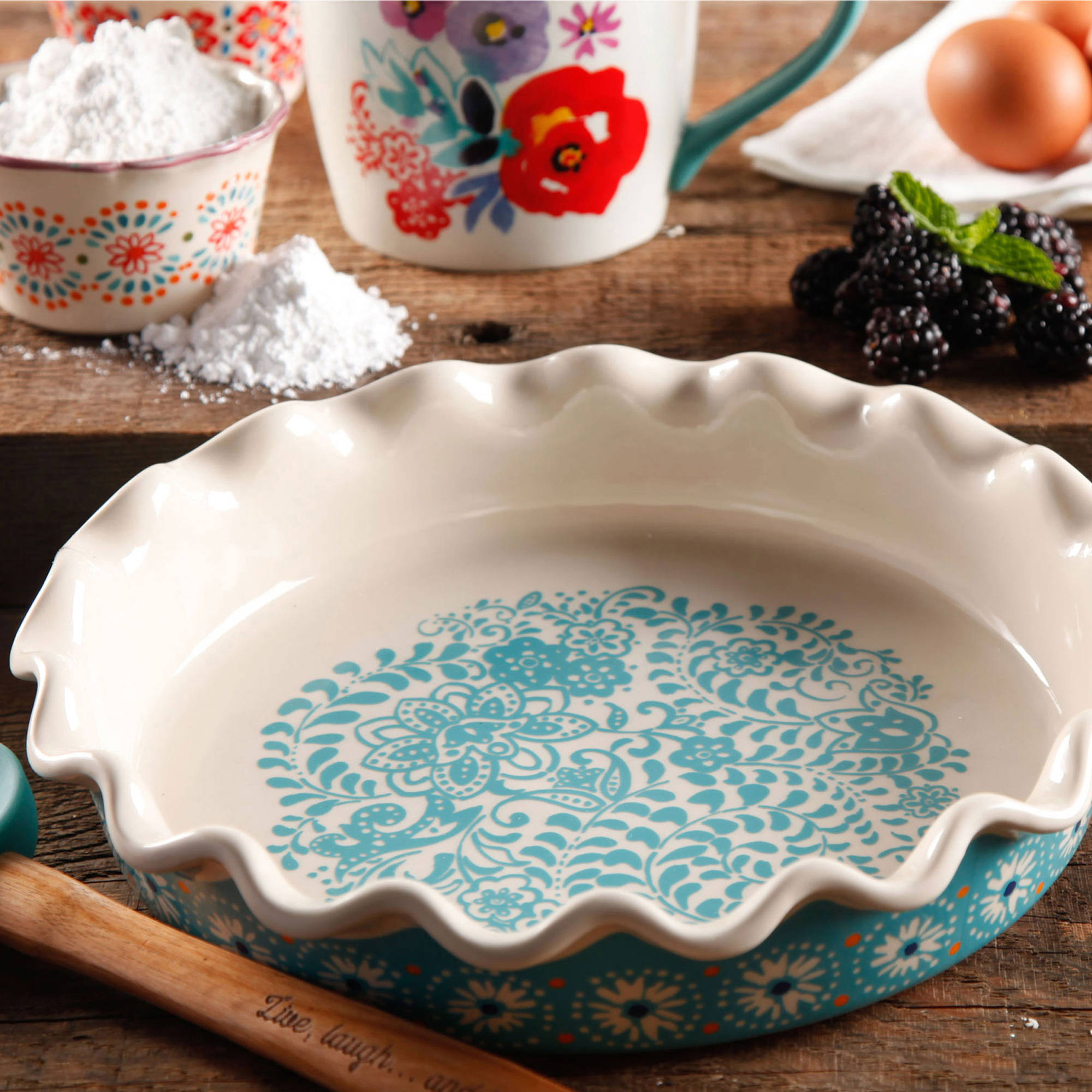 The Pioneer Woman Pie Dish