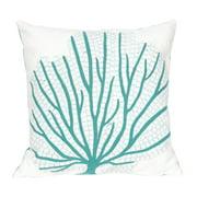 Liora Manne Coral Fan Indoor/Outdoor Pillow