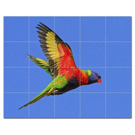 Bird Ceramic Tile Mural Kitchen Backsplash Bathroom Shower 402135 M54