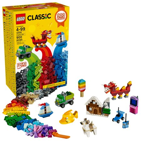 LEGO Classic Creative Box 10704 Building Set (900 (Lego Brick Box)