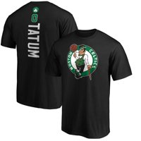 Jayson Tatum Boston Celtics Fanatics Branded Team Playmaker Name & Number T-Shirt - Black