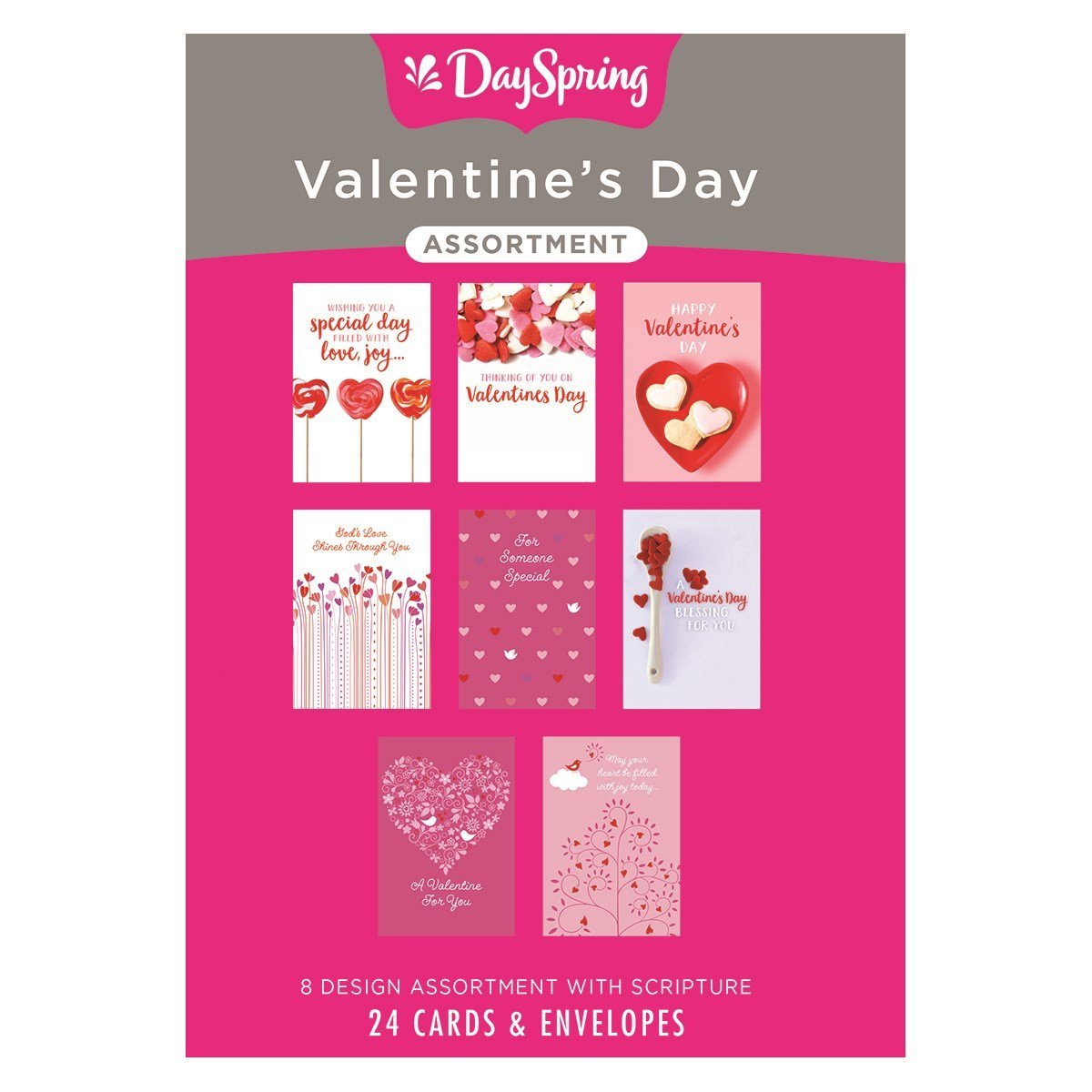 Valentine S Day Inspirational Boxed Cards Lovely Walmart Com