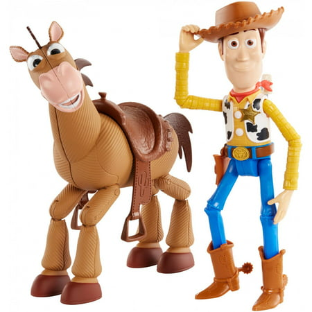 Toy Story Woody Boots (Disney Pixar Toy Story Woody & Bullseye 2-Pack)