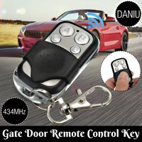 DANIU Wide Frequency Electric Universal Gate Garage Door Remote Key Control 4 Button 270MHz~434MHz Cloning Transmitt Key Fob Modern Design