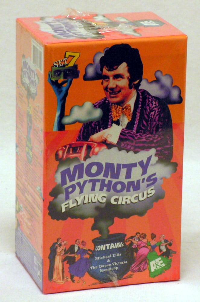 Monty Python Flying Circus Season 4 ~ Episodes 40-45 ~ Three VHS Tape Box Set by A&E