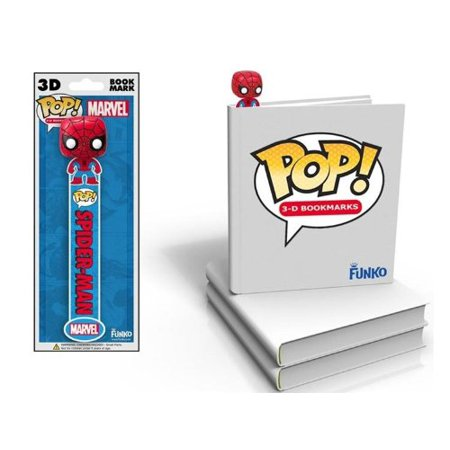 Marvel Spiderman 3D Bookmark, FUNKO did it again By FunKo From - Marvel Scene It