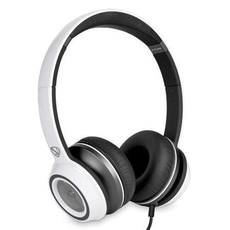 Monster N-Tune High Performance On-Ear Headphones w/3.5mm Plug (Frost White)