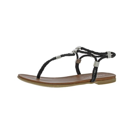 8058f011a8d Madden Girl - Madden Girl Womens Flexii Braided Slingback Thong Sandals -  Walmart.com