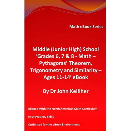 Middle (Junior High) School 'Grades 6, 7 & 8 - Math – Pythagoras' Theorem, Trigonometry and Similarity – Ages 11-14' eBook - eBook](Halloween Math Game Middle School)
