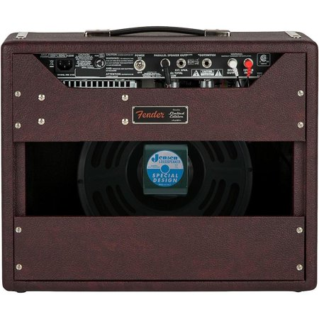Limited Edition '65 Princeton Reverb 15W 1x12 Tube Guitar Combo Amp Bordeaux