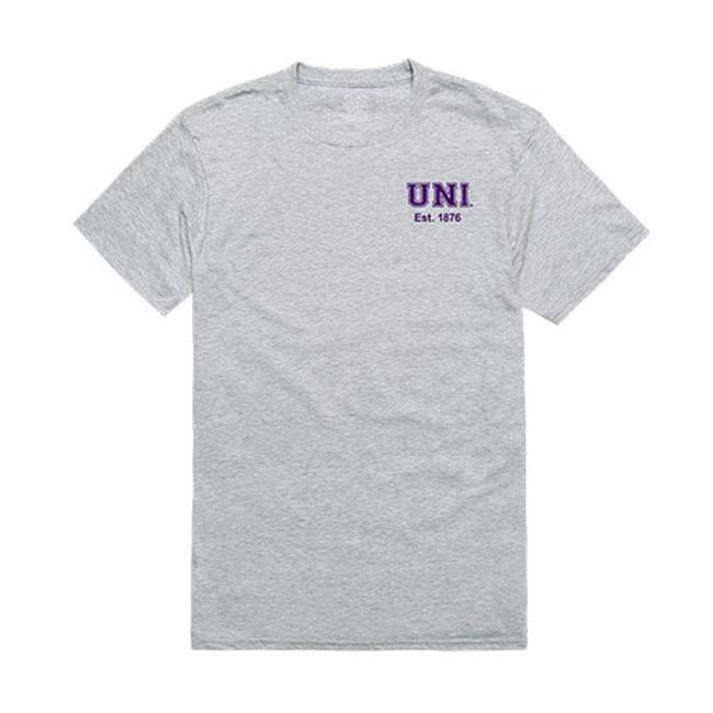 W Republic Apparel 528-143-HGY-04 University of Northern Iowa Practice Tee for Men, Heather Grey - Extra Large - image 1 de 1