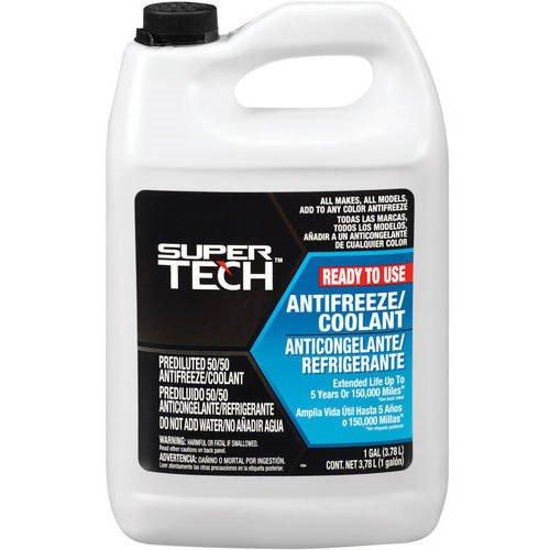 Super Tech 50/50 Antifreeze/Coolant Pre-Mix - Walmart com