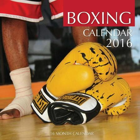 Boxing Calendar 2016: 16 Month Calendar