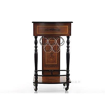 BrandNew Old Modern Handicrafts NG022 5 Bottle Wine Cabinet Furniture GSS180193669 by GSS