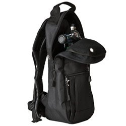 Cylinder Carrying Bags, Black, Backpack Style with High-q...