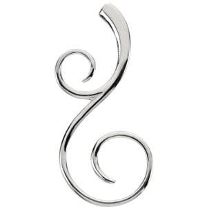 Jewels By Lux Scroll Fashion (Gemstone Scroll)