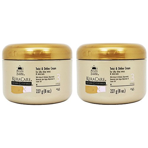 Keracare Avlon Keracare Natural Textures Twist And Define Cream Set Of Two 8 Oz Each Walmart Com Walmart Com