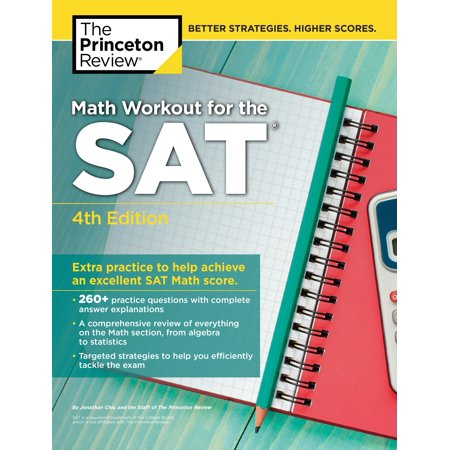 Math Workout for the SAT, 4th Edition : Extra Practice to Help ...