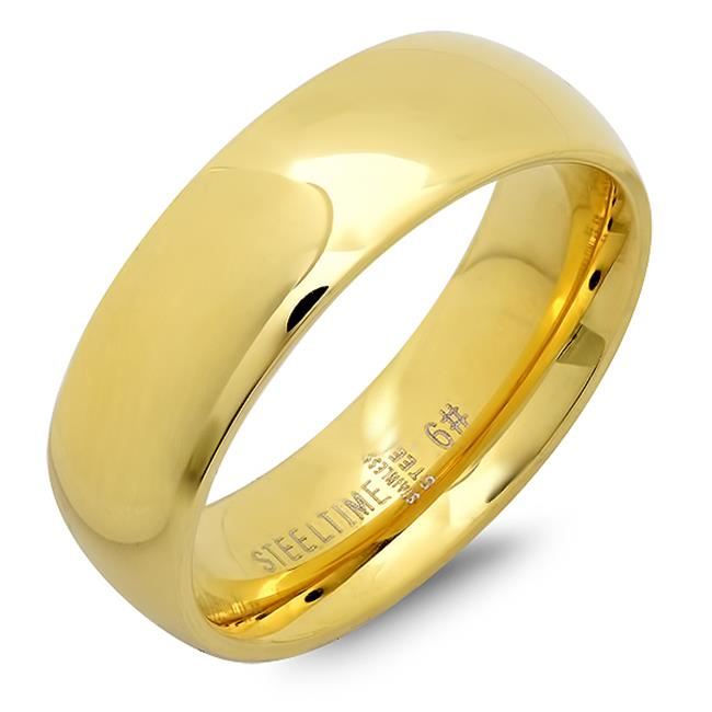 Ladies Classical Wedding Band Ring - 6
