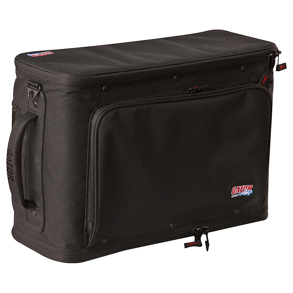 Gator Rolling 2-Space Rack Bag with Removable Handle and Wheels