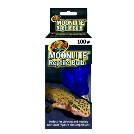 Zoo Med Moonlite Reptile Bulb 100 Watt Walmart Com
