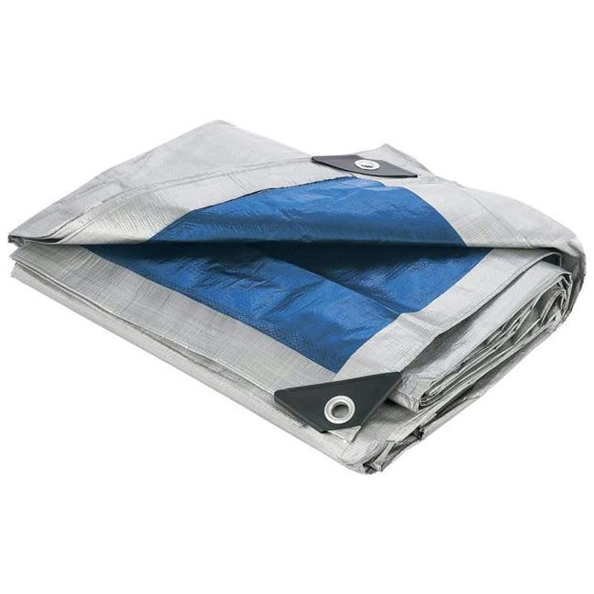 "Maxam SPTARP6 40"" x 50"" All Purpose Blue Tarp"
