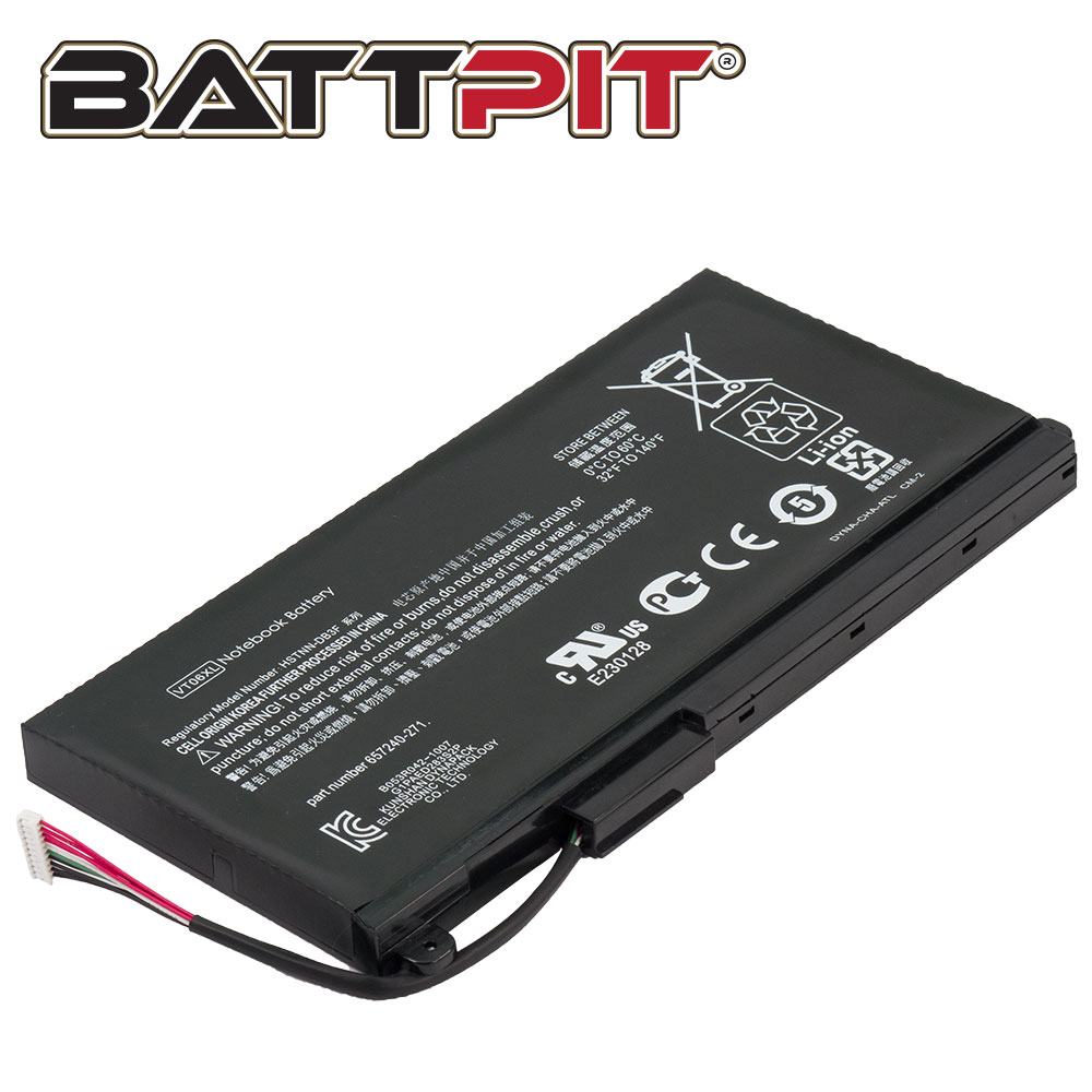 BattPit: Laptop Battery Replacement for HP Envy 17-3070NR 657240-151 657240-251 657503-001 HSTNN-IB3F VT06
