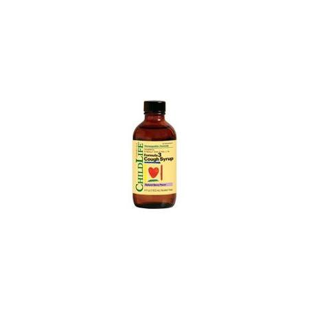 Formula 3 Cough Syrup Natural Cherry Child Life 4 oz (Best Homeopathic Cough Syrup)