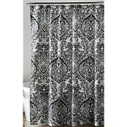 Aubree Shower Curtain, Black/White