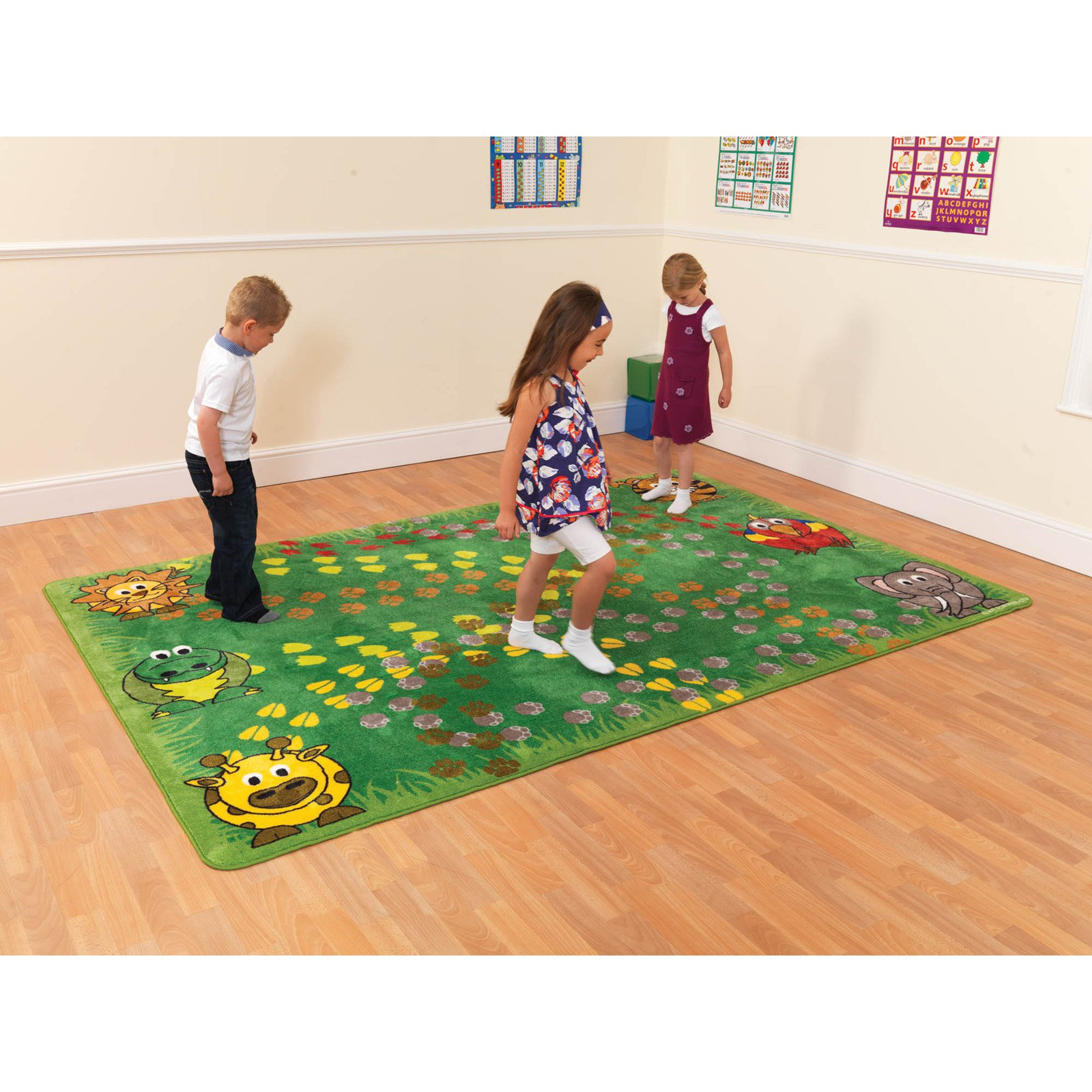 Kalokids Town & Country Follow that Zoo Animal Motricity Carpet