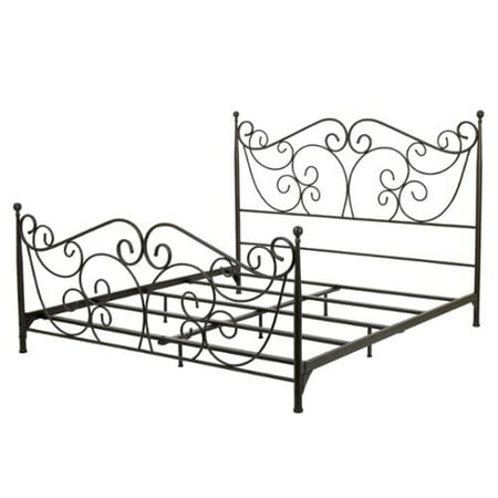 Denise Austin Home Horatio Metal Bed Frame - King Size - Walmart.com