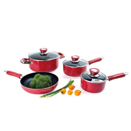 Alpine cuisine 7 piece cookware set for Alpine cuisine ceramic cookware