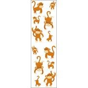 Mrs. Grossman's Stickers-Playful Monkeys