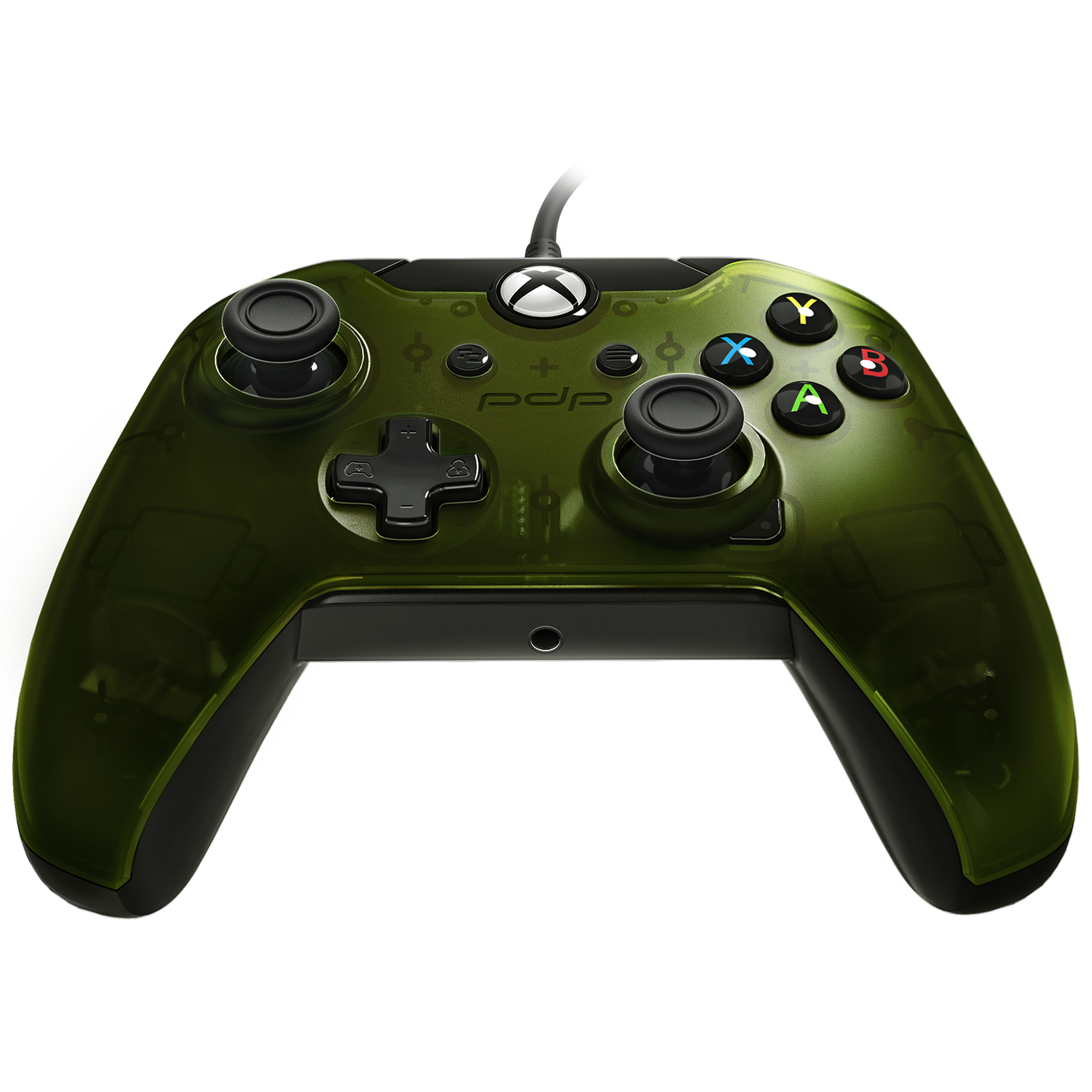 PDP Wired Controller for Xbox One, Xbox One X and Xbox One S, Verdant Green, 048-082-NA-GR