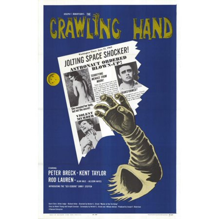 The Crawling Hand Movie Poster (11 x - Crawling Hands