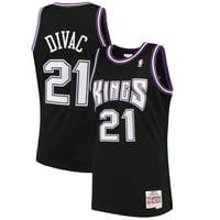 Vlade Divac Sacramento Kings Mitchell & Ness 2000-01 Hardwood Classics Swingman Jersey - Black