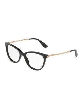555535330343 Product Image DOLCE   GABBANA Eyeglasses DG3258 501 Black 52MM