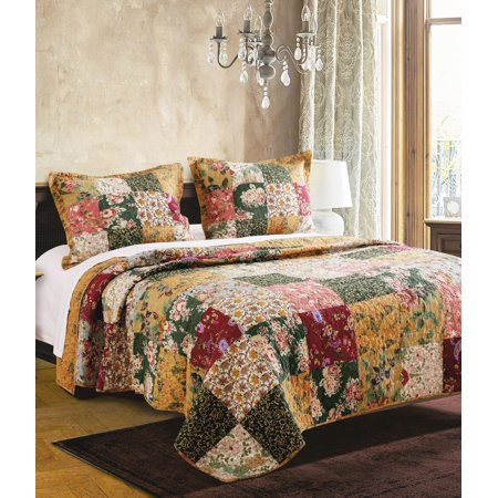 - Global Trends Antique Chic Quilt Set