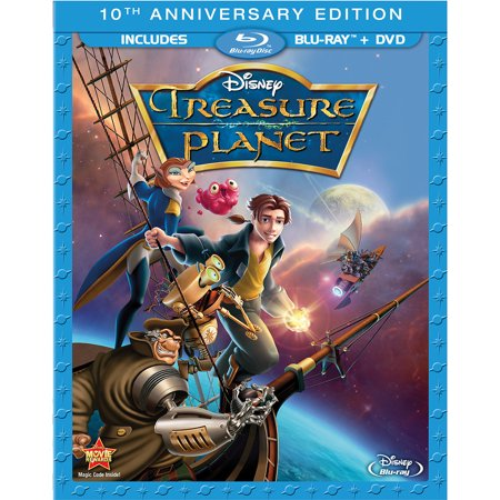 Treasure Planet (10th Anniversary Edition) (Blu-ray + DVD)](Halloween Movies On Disney 2017)