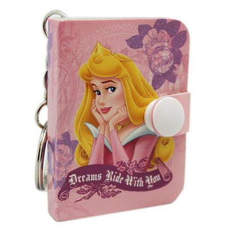 Disney Princess Aurora Light Pink Cover Mini Notepad - Pink Princess Pad