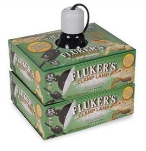 Fluker's Reptile Terrarium Clamp Lamp with Dimmer, 5.5-Inch